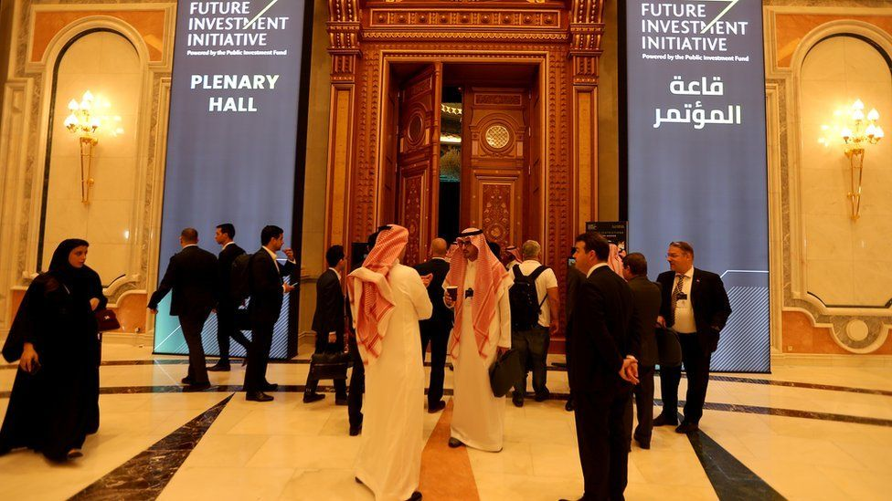 The Future Investment Initiative forum in Riyadh