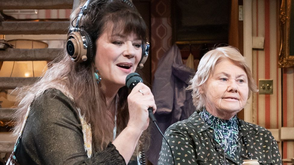 Josie Lawrence (left) and Annette Badland in Our Lady of Blundellsands