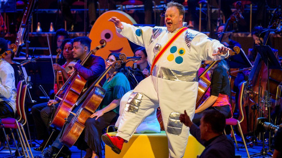 Mr Tumble at the CBeebies Proms