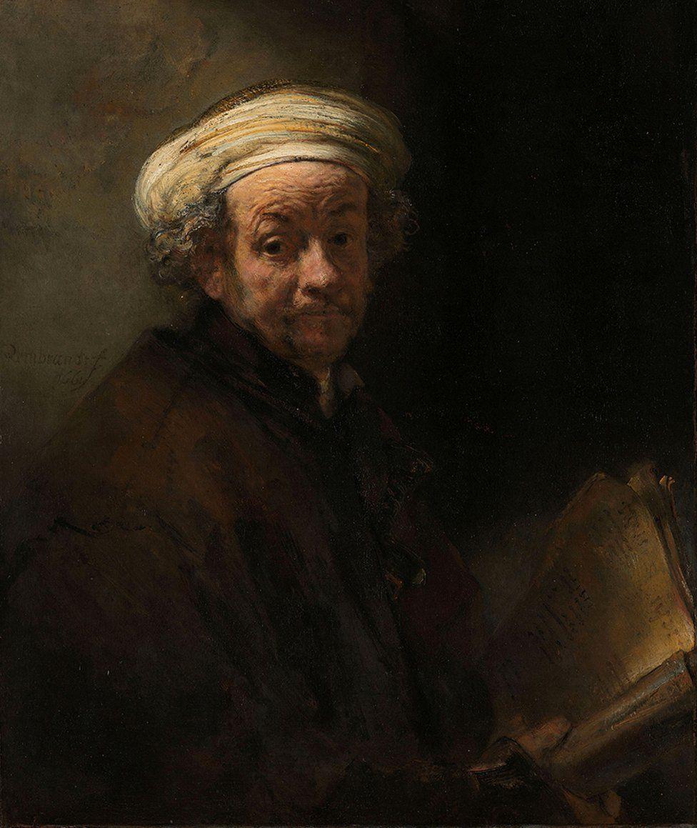 Self-portrait as the Apostle Paul, Rembrandt van Rijn, 1661