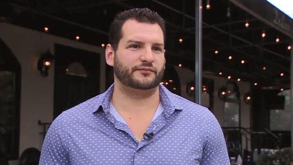 Rob DeLuca, owner of DeLuca's restaurant in New York