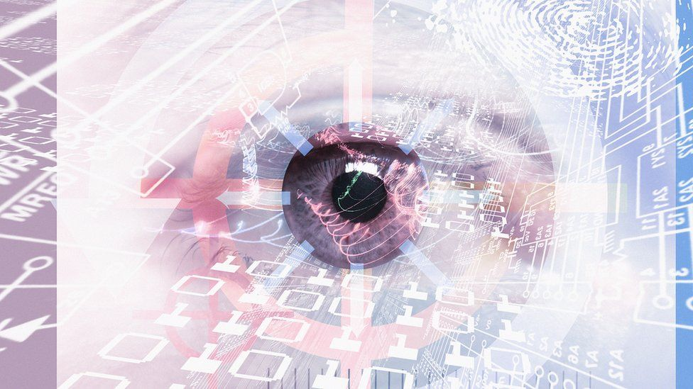 Computer surveillance conceptual artwork