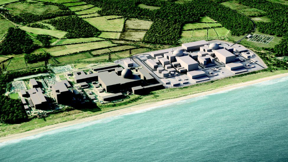 Sizewell A, B and C model