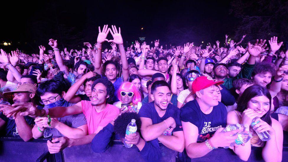 Crowd at a previous Camp Flog Gnaw festival.