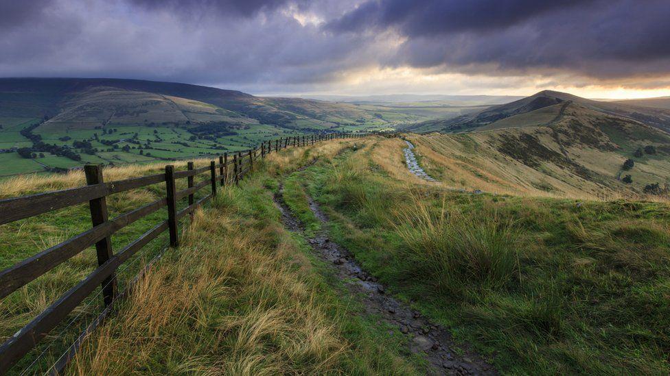 Mam Tor in the Peak District