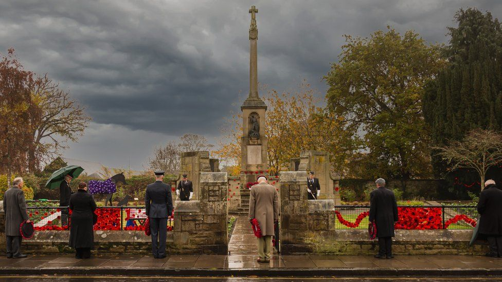 Remembrance Service in Kelso