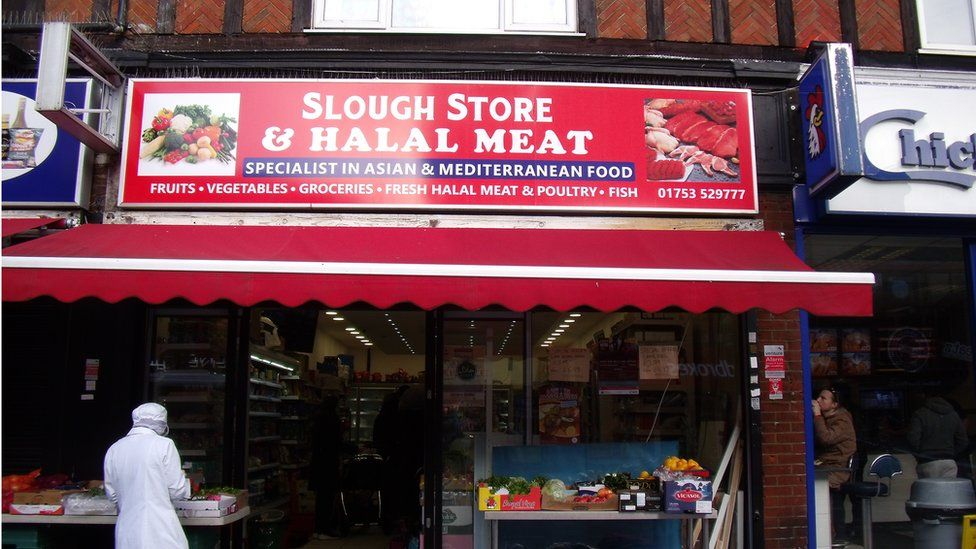Slough Store and Halal Meat