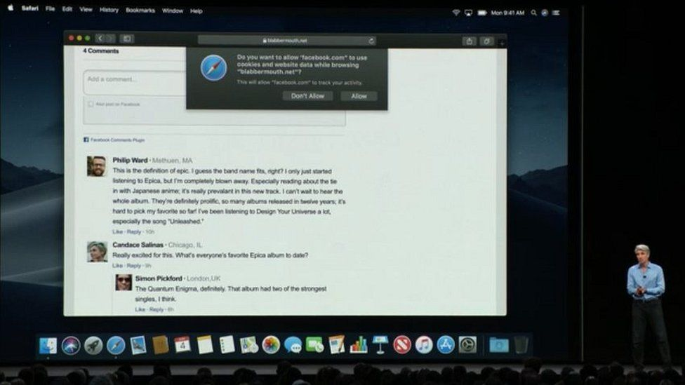 Apple jams Facebook's web-tracking tools - BBC News