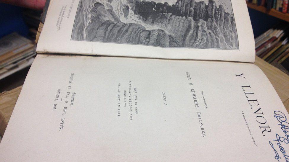 Rhifyn 'Y Llenor' o 1895, golygydd Owen M Edwards, Rhydychen