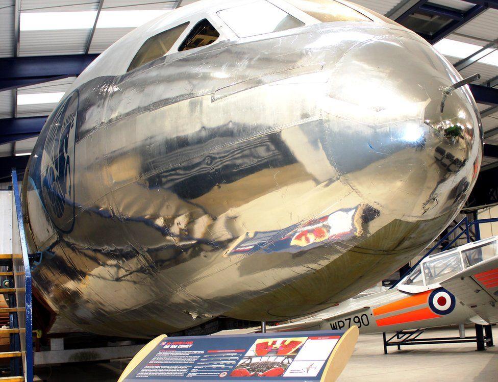 De Havilland Museum hangar