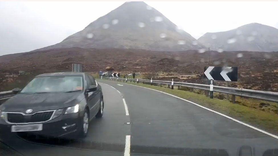 Near miss on Skye