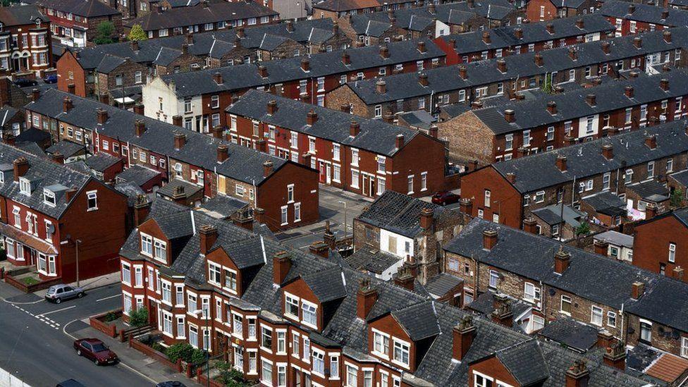 Terraced housing, Longsight, Manchester