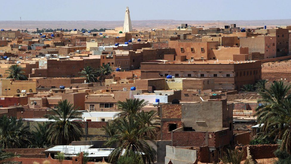 Town of Guerara in Algeria