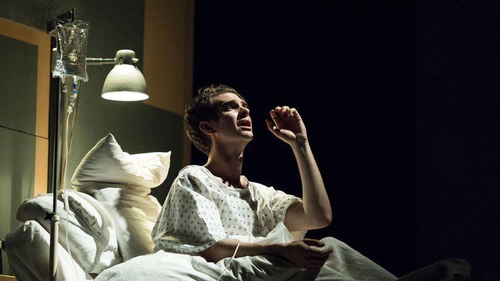 Andrew Garfield in Angels in America