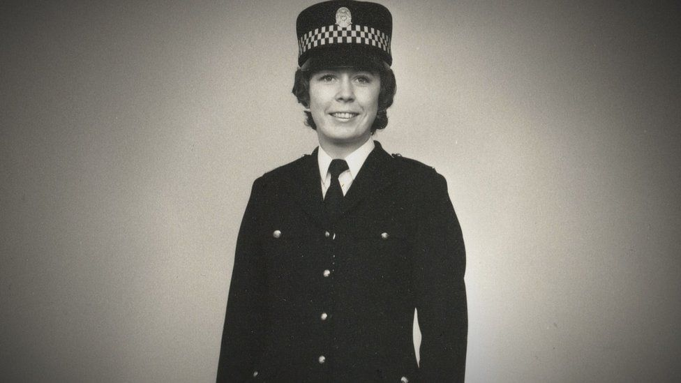 Nanette Pollock during her time as a serving police officer