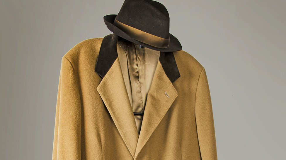 Coat and trilby worn by actor George Cole