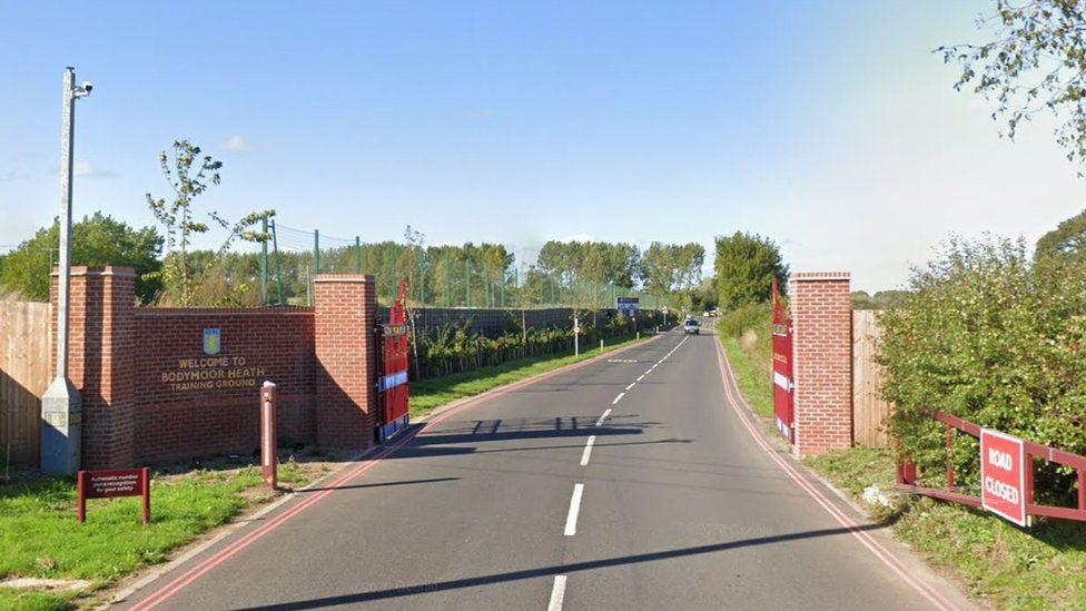 Aston Villa's Bodymoor Heath training ground