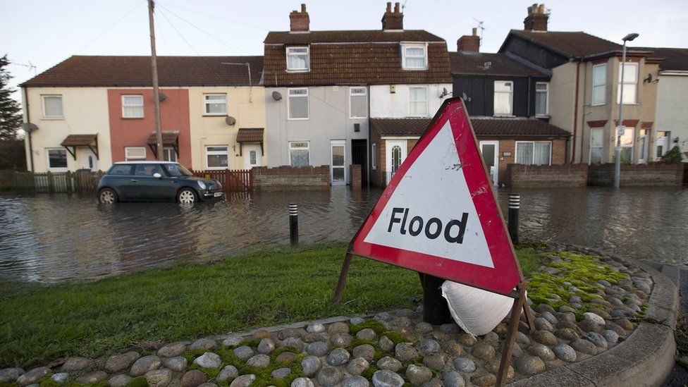 Flood in Great Yarmouth