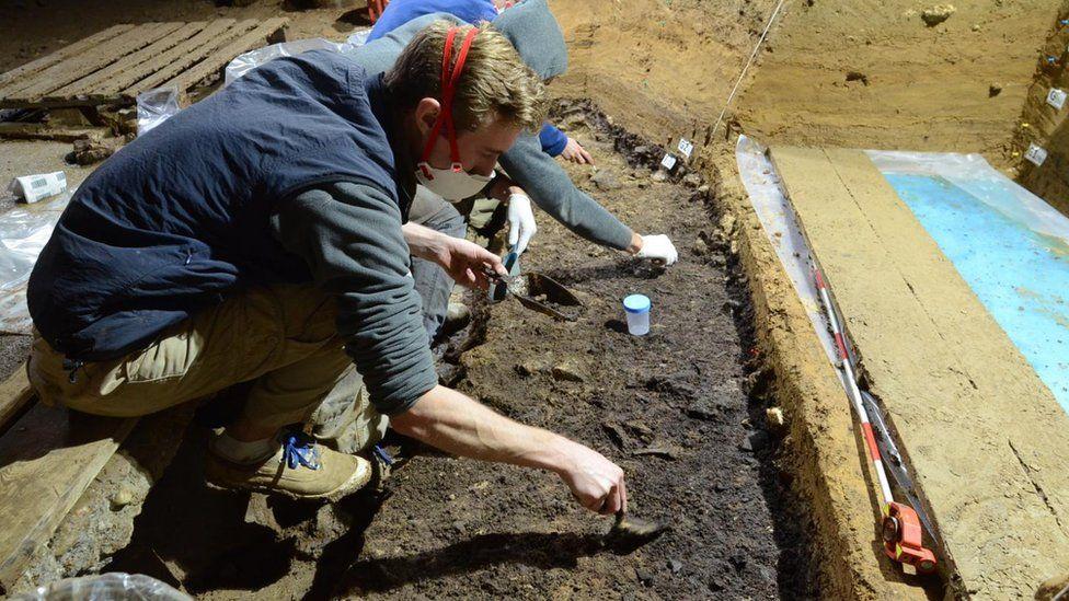 Excavations at Bacho Kiro Cave