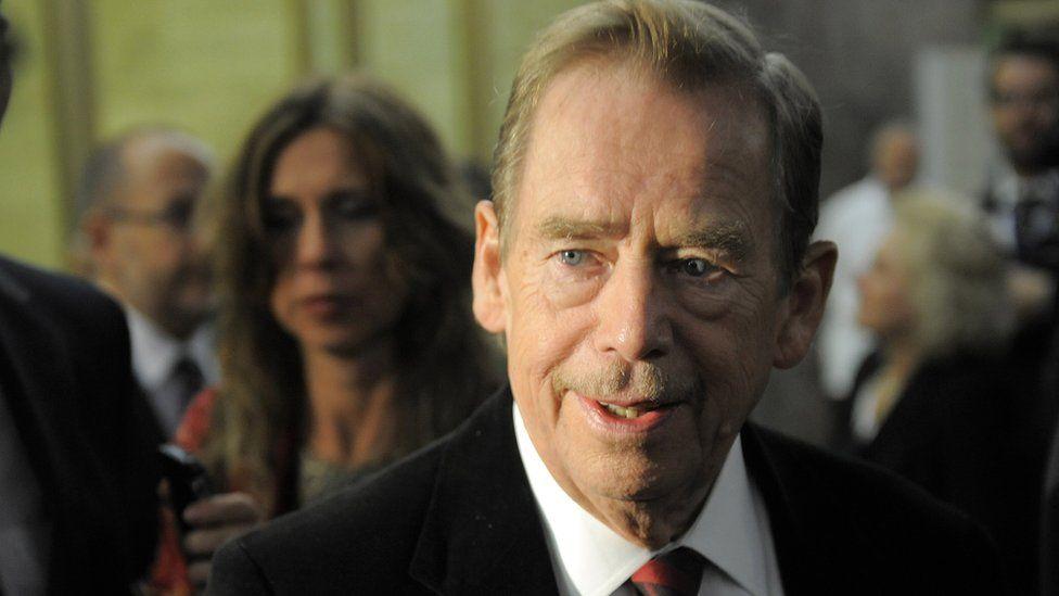 Former Czech President Vaclav Havel, 3 Sep 09