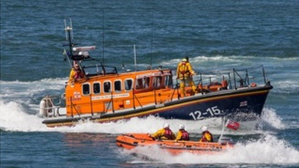New Quay lifeboat