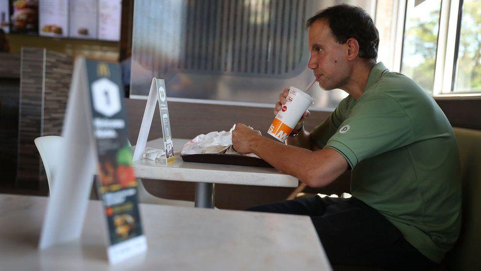 McDonald's customer