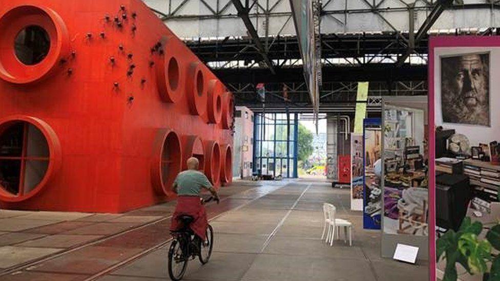 NDSM art space in Amsterdam