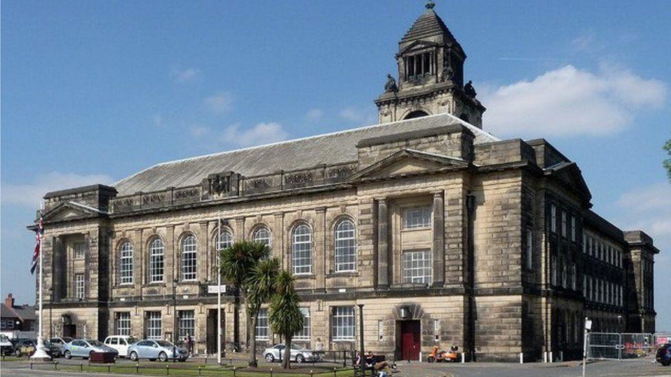Town Hall, Brighton Street, Wallasey
