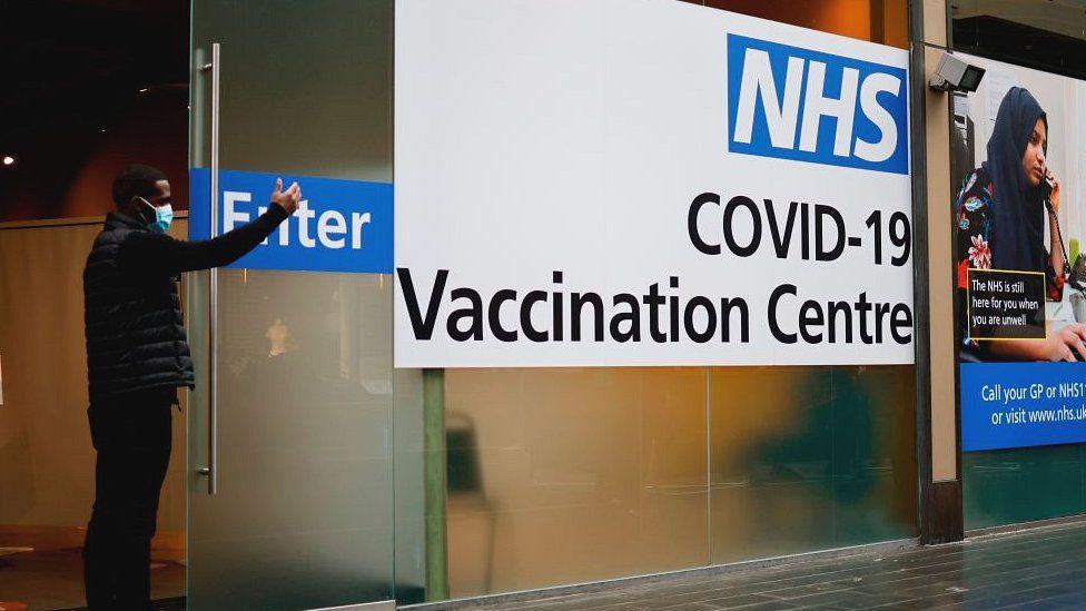 Covid vaccination centre