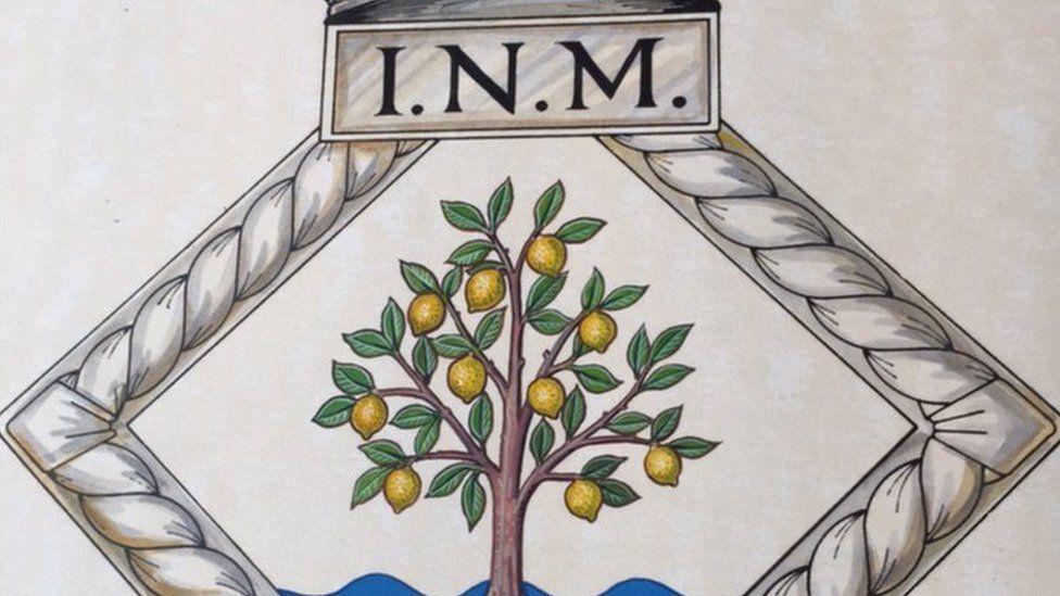 INM crest