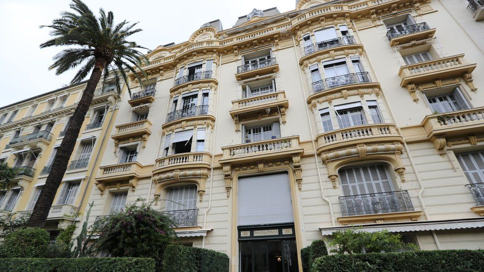 Image shows the residence of Jacqueline Veyrac