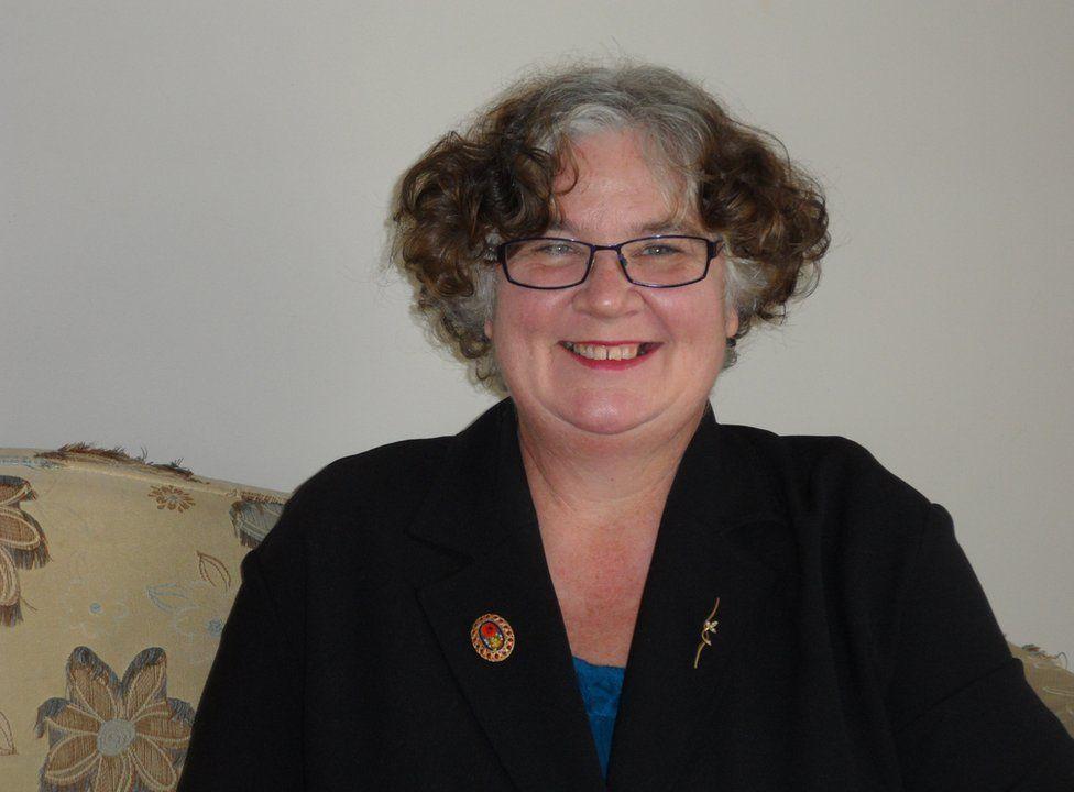 Picture of New Zealand woman Julie Denham