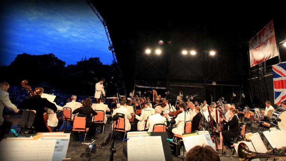 Bournemouth Symphony Orchestra at Powderham Castle