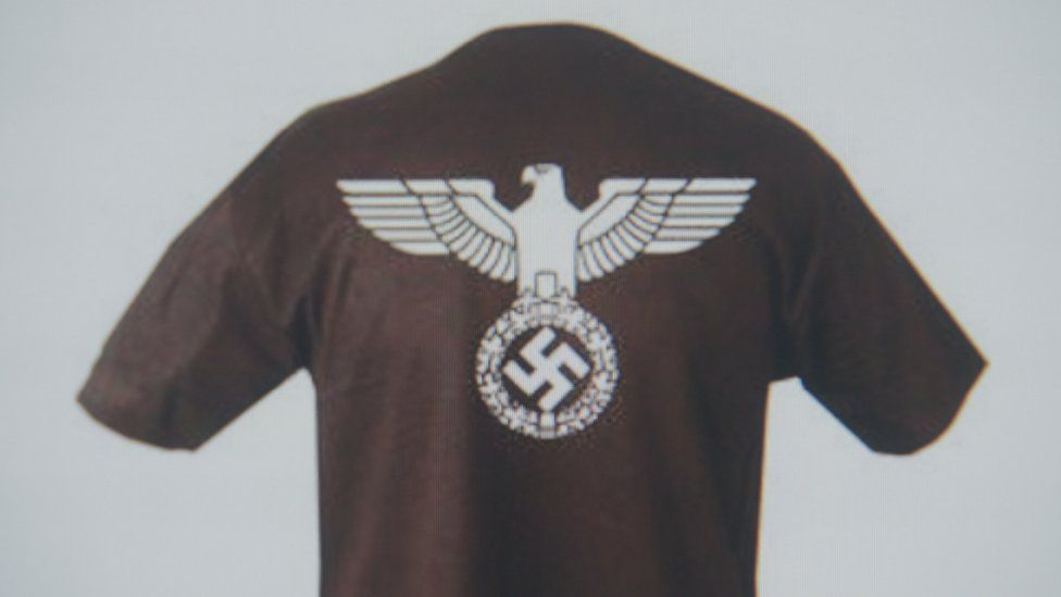 Nazi-themed merchandise sold by 1st Knight Military Charity