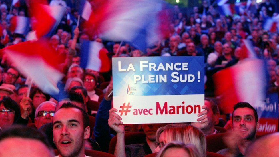Campaign event for Marion Marechal-Le Pen in Toulon