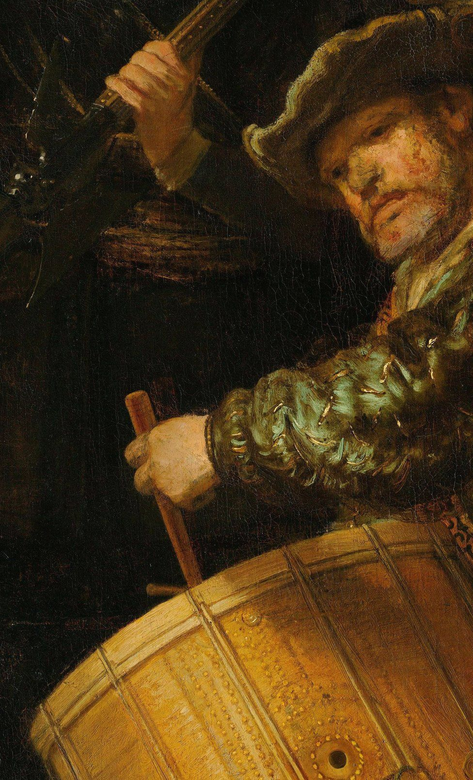 Detail from The Night Watch