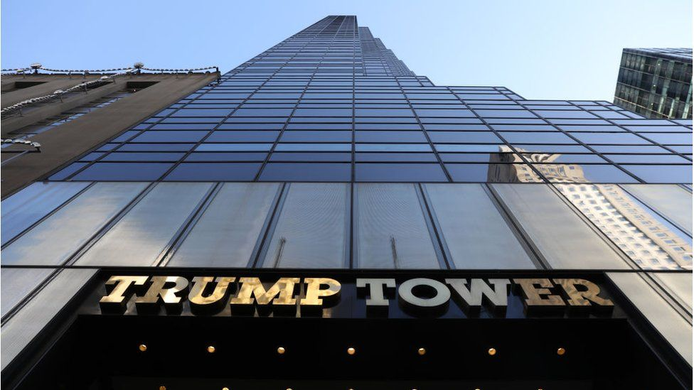 Trump Tower on Fifth Avenue in Manhattan, New York City
