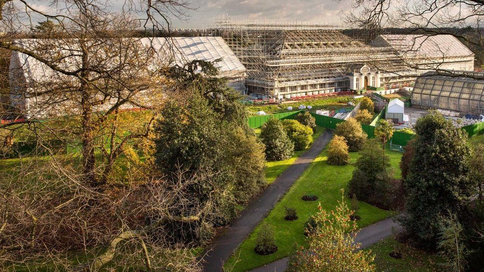 Temperate house during its five-year res