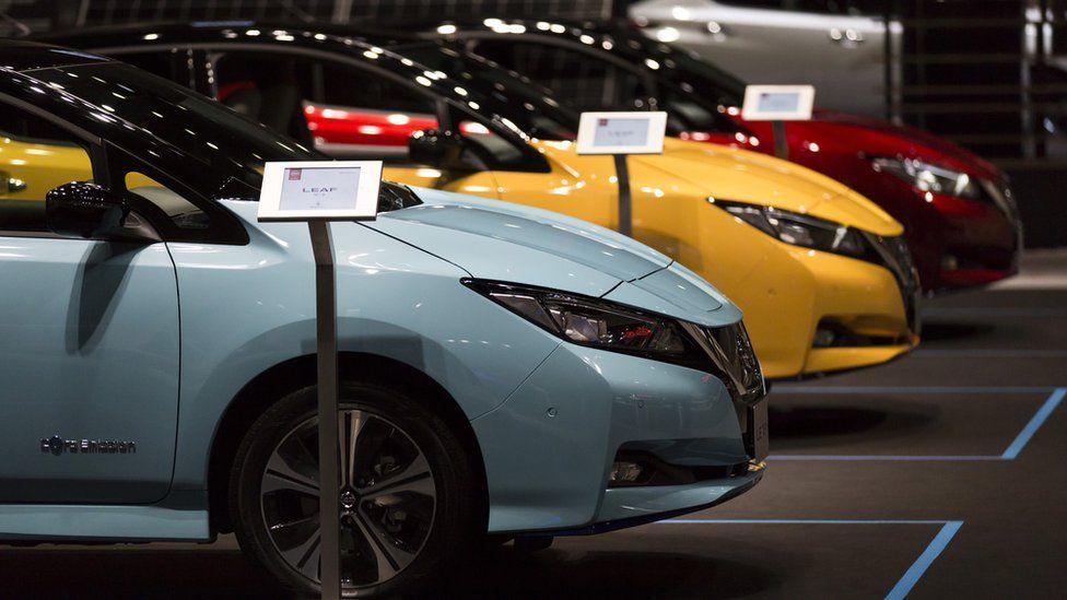 Nissan Leaf cars