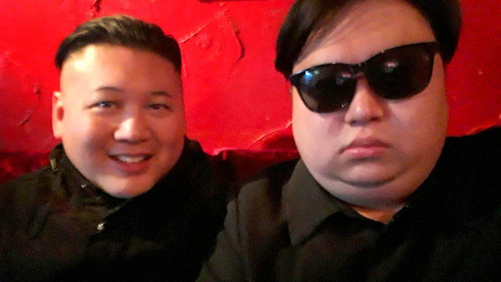Howard and Minyong