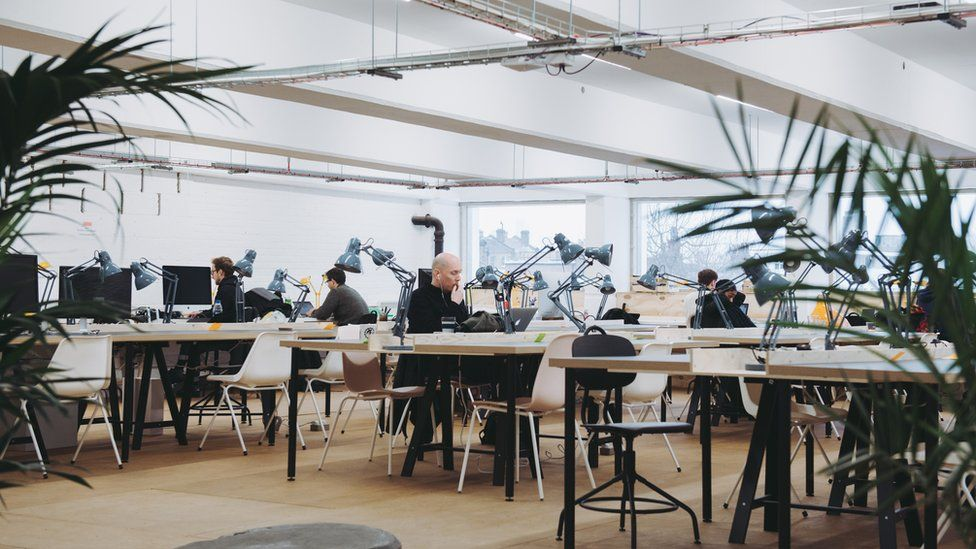 The Ramp in Peckham Levels is a creative co-working space for start-ups and freelancers