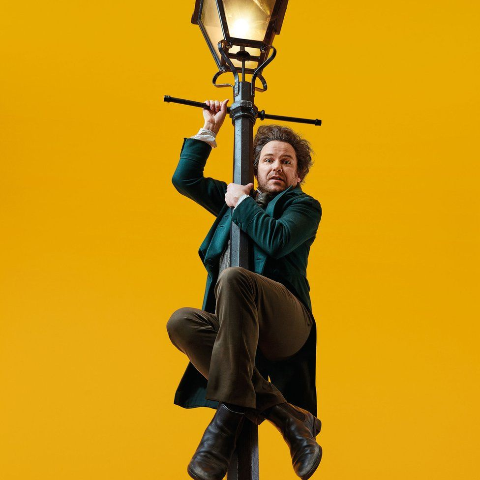 Rory Kinnear as the young Karl Marx