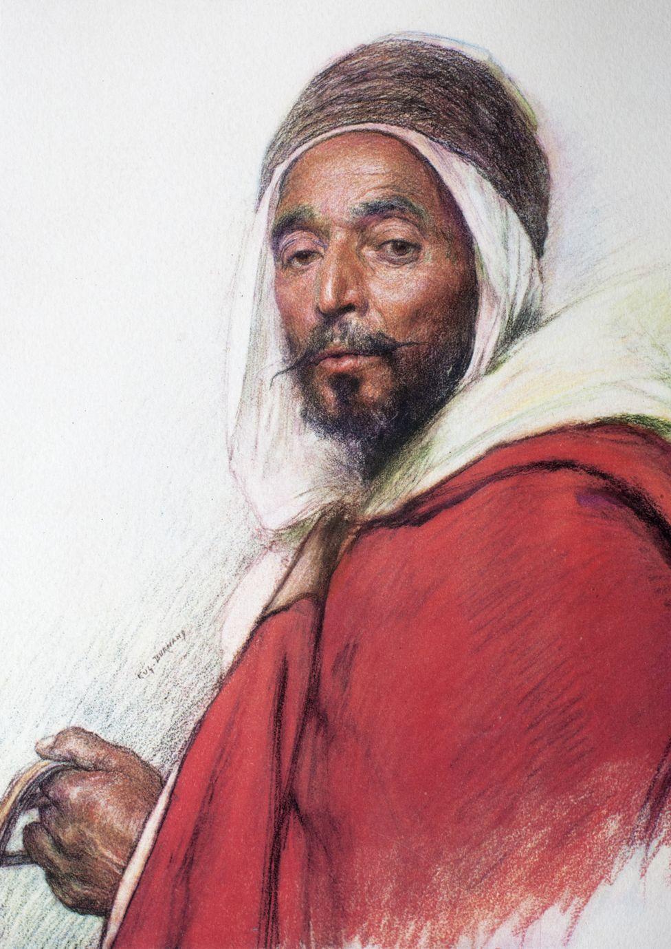 Algerian horseman Mohamed Osman