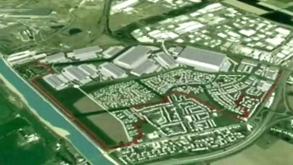 Proposed redevelopment of the former RAF Sealand