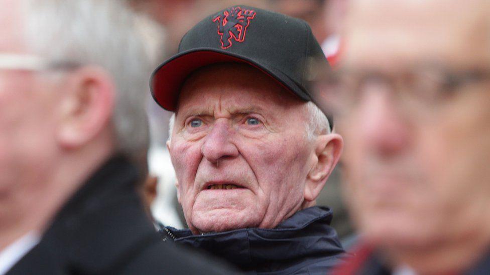 Former United player Harry Gregg