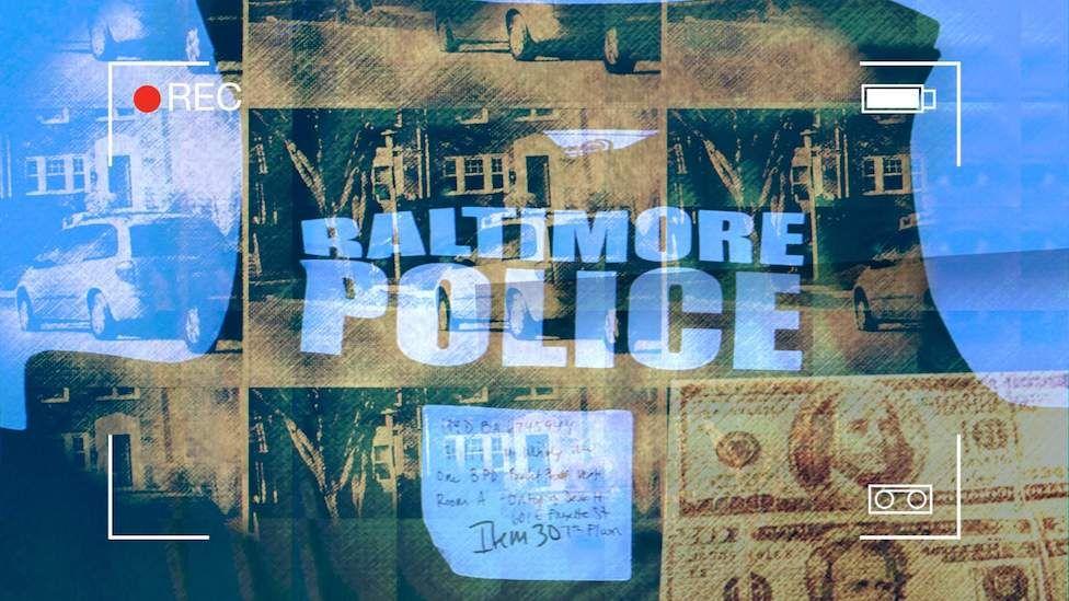 Stylised image of Baltimore