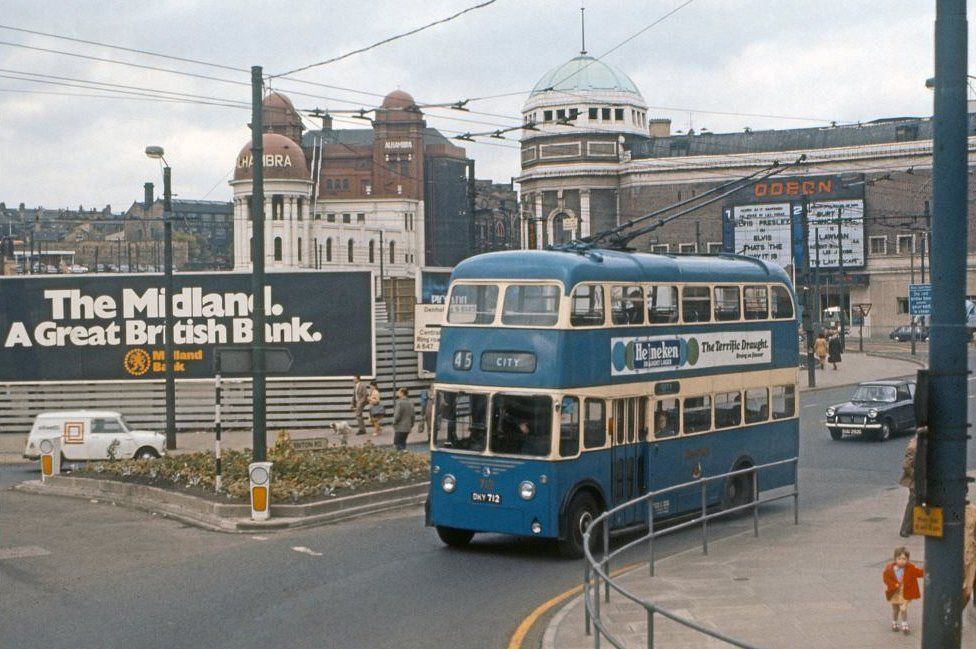 Trolleybus in Bradford