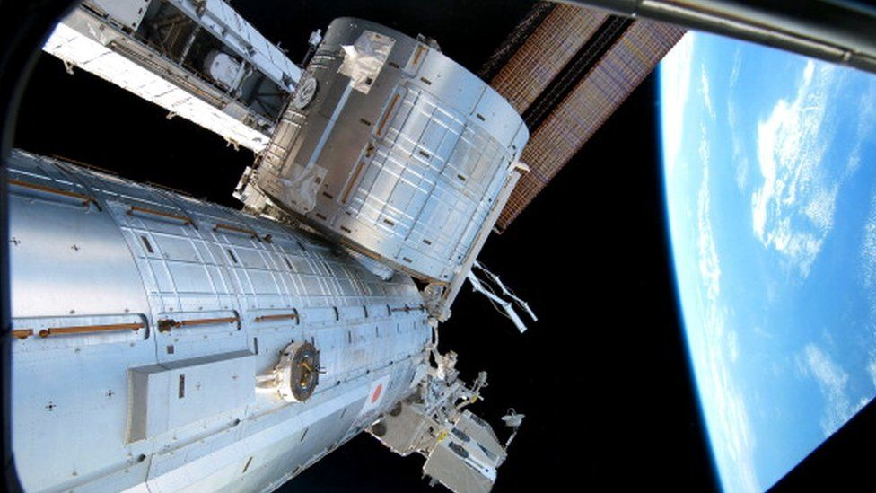 Kibo space module on the ISS
