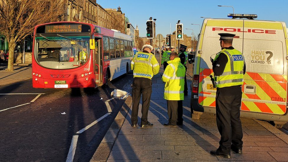 Dundee bus collision