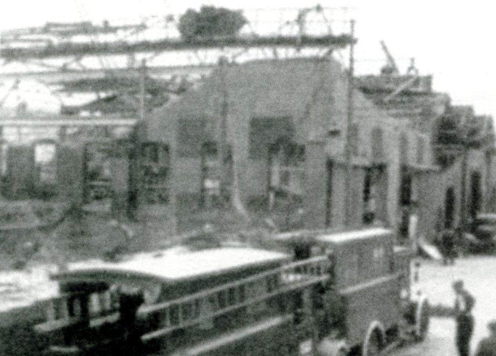 Rolls-Royce factory damage